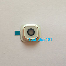 Back Rear Camera Lens Cover Part For Samsung Galaxy S6 G920 G920F White