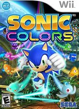 Sonic Colors [Nintendo Wii, NTSC, High Speed Platform Action Video Game] NEW