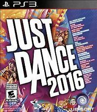 JUST DANCE 2016 PS3 SIMULATION NEW VIDEO GAME