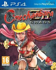 Onechanbara Z2 Chaos PS4 ZII * NEW SEALED PAL *