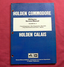 Holden VN Commodore Calais Volume 2 Factory Workshop Repair Service Shop Manual