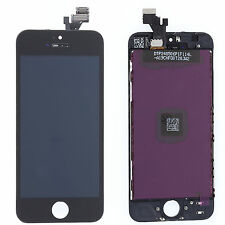 Black New For iPhone 5 LCD Display Digitizer Touch Screen Assembly Replacement