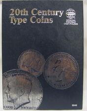 WHITMAN FOLDER - 20TH CENTURY TYPE COINS (#9046)