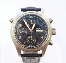 W280-IWC Doppelchronograph Ref. 3713 Split Second Day-Date Men's Automatic Watch