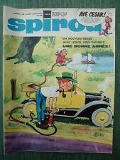 Journal SPIROU n° 1603 (52  pages) du 2 janvier 1969 - COMPLET +  Doc SPIROU