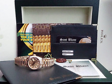 ROLEX - Ladies Gold PRESIDENT Champagne Diamond Model 179178 - SANT BLANC