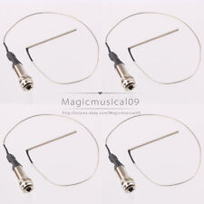 4P 1/4' Mono End Pin Jack With Piezo Pickup Under-Saddle Passive For Guitar