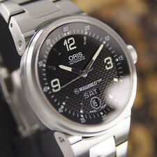 AUTHENTIC ORIS WILLIAMS F1 DAY DATE REF.7560 AUTOMATIC MENS WRIST WATCH