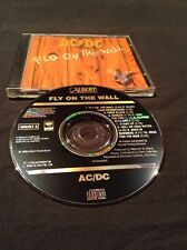 AC/DC FLY ON THE WALL CD AUSTRALIA EARLY PRESSING BLACK ALBERT SONY 465257 2