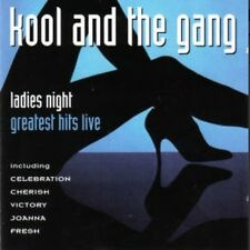 "RARE!!!! ""Ladies Night/Greatest Hits Live"" Kool & the Gang"