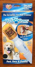Pedi Paws The Incredible Pet Nail Trimmer! Fast Easy & Gentle! Won't Crack Nails