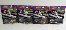 CARS : ELVIRA MACABRE MOBILE, BOOTHILL EXPRESS, VAMPIRE VAN & MYSTERION SET