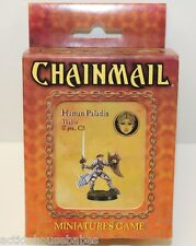 D&D DUNGEONS & DRAGONS - CHAINMAIL Miniatures Game - HUMAN PALADIN Thalos - D20