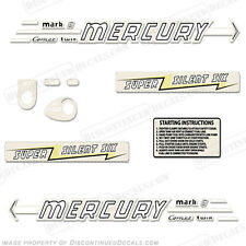 Mercury 1956 6hp Outboard Decal Kit - Discontinued Decal Reproductions in Stock!