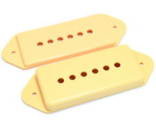 Cream Covers Cover Set for P-90 P90 Style Dogear Guitar Pickups PC-0739-028