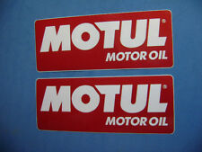 MOTUL RACING OIL STICKERS DECALS X2 moto gp mptorbike