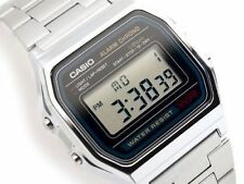 AUSSIE SELLER! NEW! CASIO VINTAGE RETRO 80's A158WA-1 A158 A158WA DIGITAL WATCH