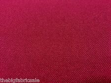 TOUGH WATERPROOF BURGUNDY CANVAS FABRIC MATERIAL AWNING COVER CORDURA TYPE