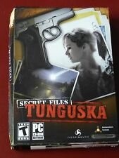 Video Game PC Secret Files Tunguska (PC, 2006) NEW SEALED Box READ