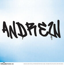 BOYS LETTERS CUSTOM NAME Vinyl Wall Decal Stickers Each letter costs $3.50 - F8