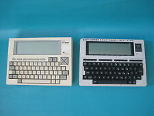 LOT of 2 Vintage Portable computer NEC Microcomputer Model PC-8300 & Tandy 102