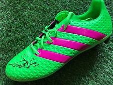 XHERDAN SHAQIRI HAND SIGNED FOOTBALL BOOT STOKE CITY, SWITZERLAND PROOF.