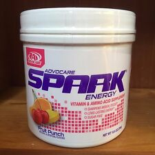 ADVOCARE SPARK CANISTER ENERGY POWDER-Fruit Punch -EXP 2018-Free Shipping