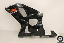2003 Suzuki Gsxr600  Black Lower Left Mid Side Fairing Cowl