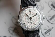 VERY RARE MILITARY MATHEY-TISSOT VINTAGE CHRONOGRAPH WW2 Watch 27CHRO OMEGA Cal.