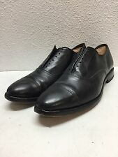 #9 Allen Edmonds Park Avenue Black Leather Cap Toe Oxfords Mens Size 9.5 D