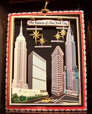 New York City Ornament Famous Buildings Flatiron Chrysler Empire United Nations