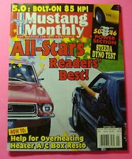 MUSTANG MONTHLY MAGAZINE SEPT/1997..5.0--4.6 POWER SECTION: STEEDA DYNO TEST