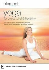 Element: Yoga for Stress Relief and Flexibility - Andrea Ambandos NEW R4 DVD