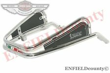 VESPA VIGANO STYLE CHROME PLATED FRONT BUMPER PX 80 125 150 200 LML STELLA @UK