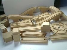 Thomas The Tank Engine Large Amount Wooden Brio/Ikea?? Tracking Inc Turntable