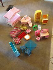 Used Vintage Barbie Dream House Accessories