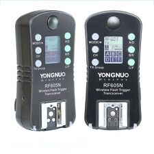 YONGNUO RF605N Wireless Flash Strobe Trigger Slave Unit with LCD for Nikon SLR