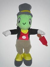 "Disney Store Pinocchio Jiminy Cricket 9"" Plush Bean Bag"