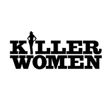 Killer Women with Tricia Helfer as Molly Parker Logo Promo 8 x 10 Inch Photo