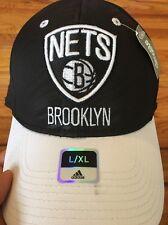 NWT Adidas L/XL Climalite Brooklyn Nets Court Side Hat