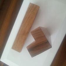 Möbelgriff Küchengriff Schrank Holzgriffe Griffe Holz Türgriff WALNUSS Lackierte