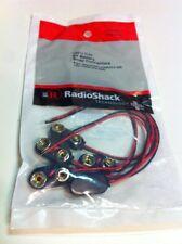 Heavy Duty 9V Battery Snap Connectors #270-0324 By RadioShack