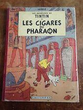 les cigares du pharaon B23 bis 1958 tintin par Hergé casterman côte BDM + 80e
