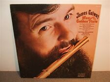 James Galway . The Man With The Golden Flute . George Gerhardt . LP