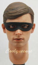 Hot Toys 1/6 Scale MMS219 Batman Movie (1966) Robin Figure - Head + Neck Post