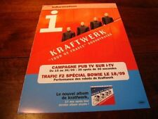 KRAFTWERK SOUNDTRACKS!!!!!!!!!!!!!RARE FRENCH PRESS/KIT