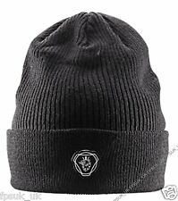 Genuine Scania Griffin Black Truck Beanie Cap Hat One Size Men's Mens New BNWT