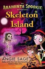 Skeleton Island by Angie Sage (ARC Paperback)