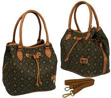 Neu Padlock Handtasche Schultertasche Tasche Umhängetasche von Max Mon lv-D5836*