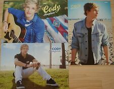 3 Poster  __  Cody Simpson  __  je  28 cm x 42 cm  __ Collection / Sammlung